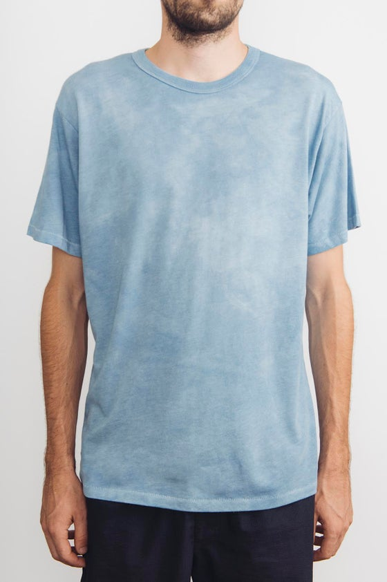 Image of Naturally Hand Dyed Indigo Choice Blended Tee