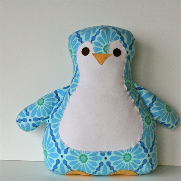 Image of Annie's Penguin Pillow PDF Sewing Pattern