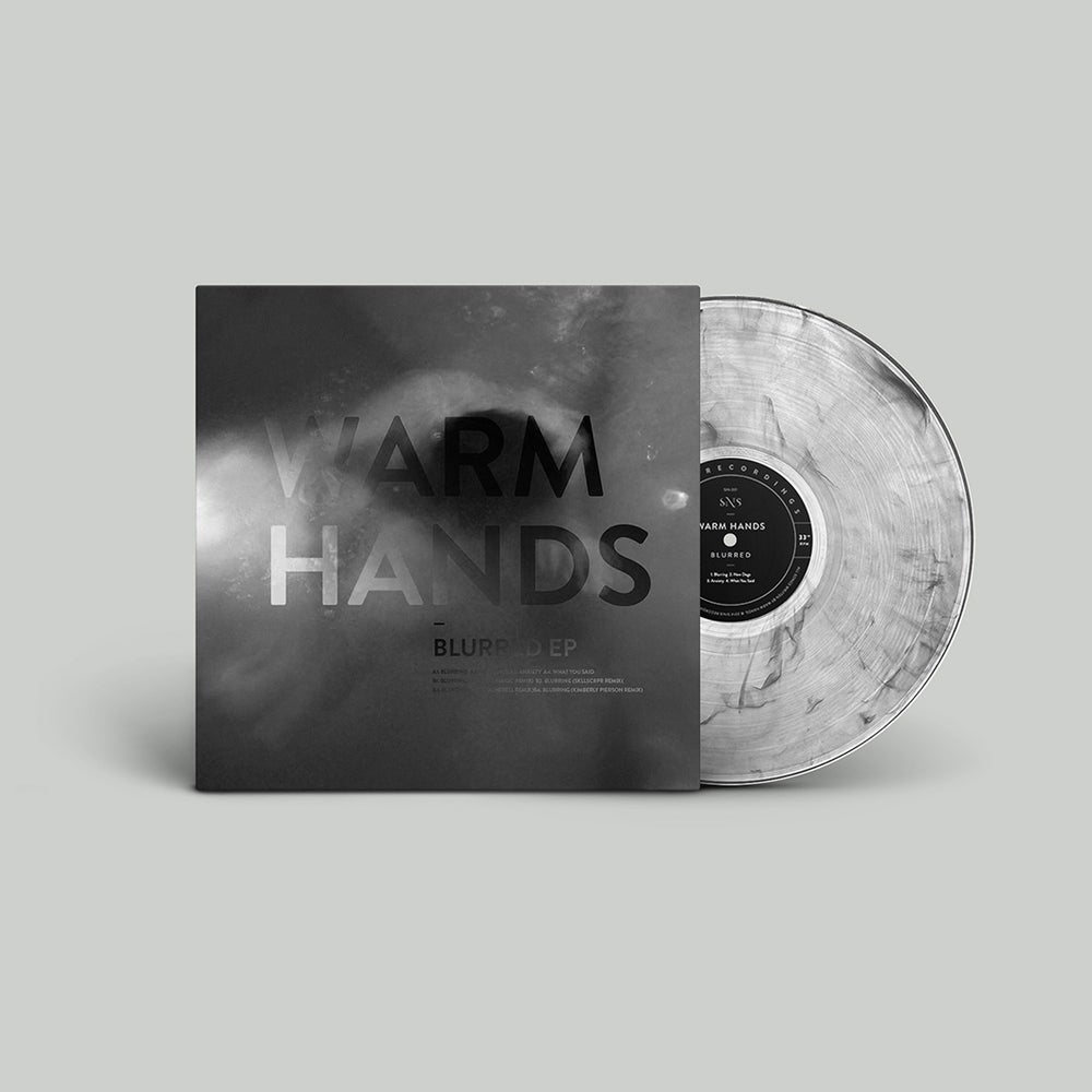 """Image of Warm Hands """"Blurred EP"""" Limited Edition Clear Smoke Vinyl 12"""" + Bonus Inserts"""