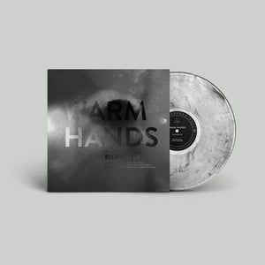 "Image of Warm Hands ""Blurred EP"" Limited Edition Clear Smoke Vinyl 12"" + Bonus Inserts"