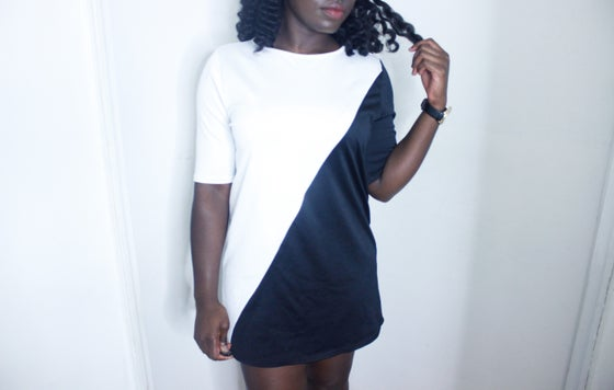 Image of MONOCHROME MISSGUIDED DRESS