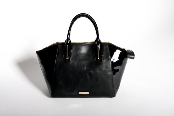 Image of Large Tote Bag (Black)
