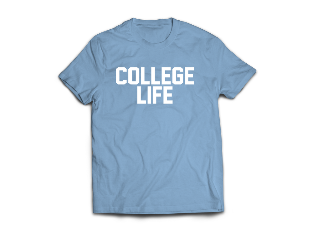 T shirts college life swag for Big cartel t shirts
