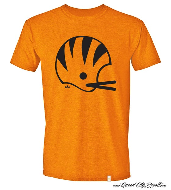 Image of Cincinnati Bengals Helmet Tee, Orange
