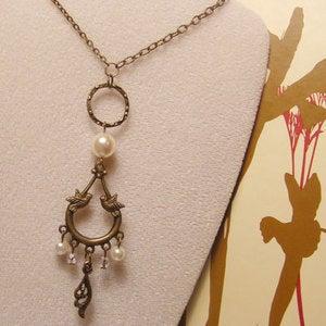 Image of Lovebirds Necklace - Originally 24.00
