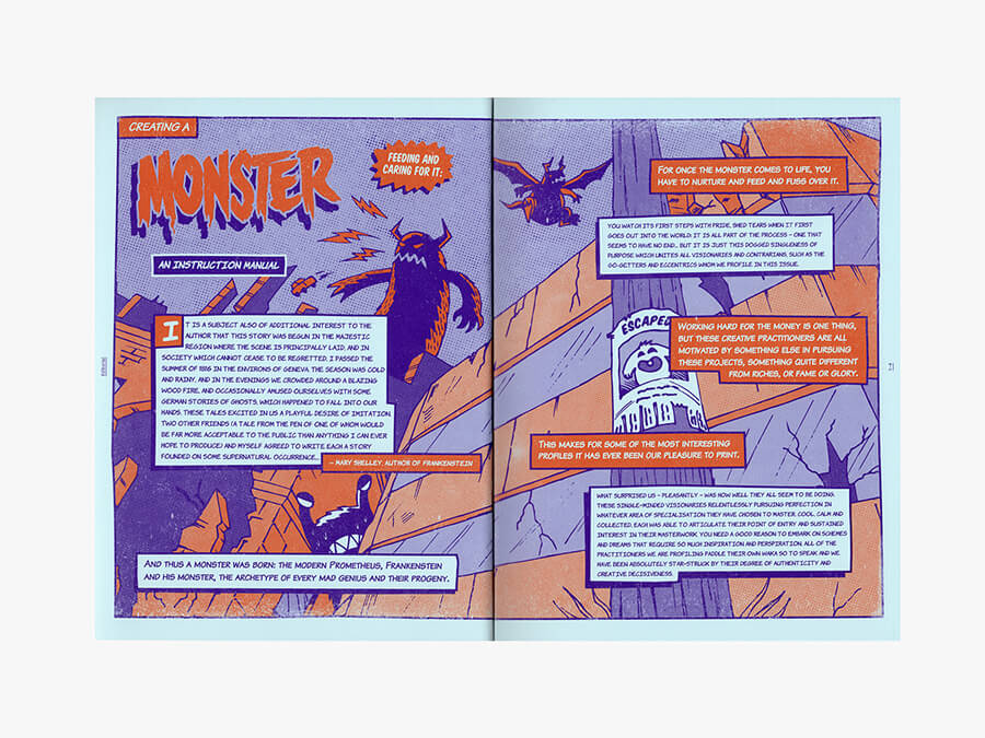 Image of Threaded Ed.16 'Creating a Monster' Issue
