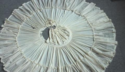 Image of DEEP V HANGING NECK BACKLESS DRESS SKIRT WITH SHOULDER-STRAPS