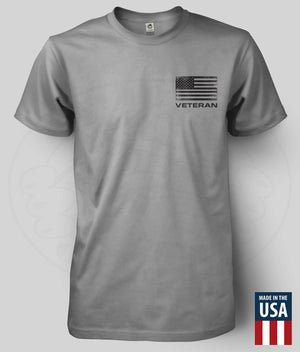 """Image of FREEDOM IS NEVER FREE """"VETERAN"""" T-Shirt"""
