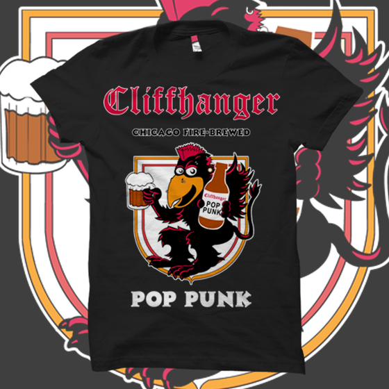 Image of Cliffhanger Root Beer Pop Punk T-Shirt