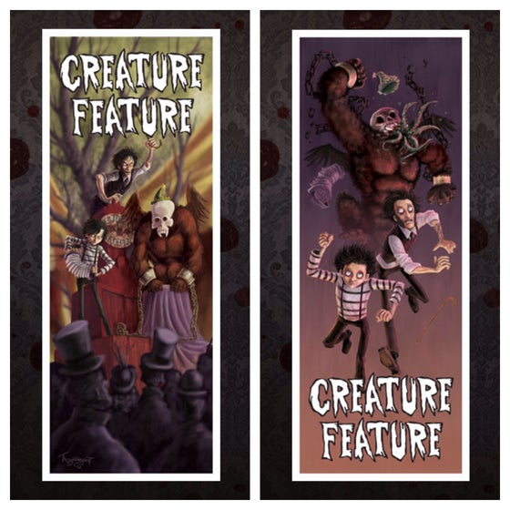 Image of Creature Feature VS Cthulhu Kong Double-Sided Poster
