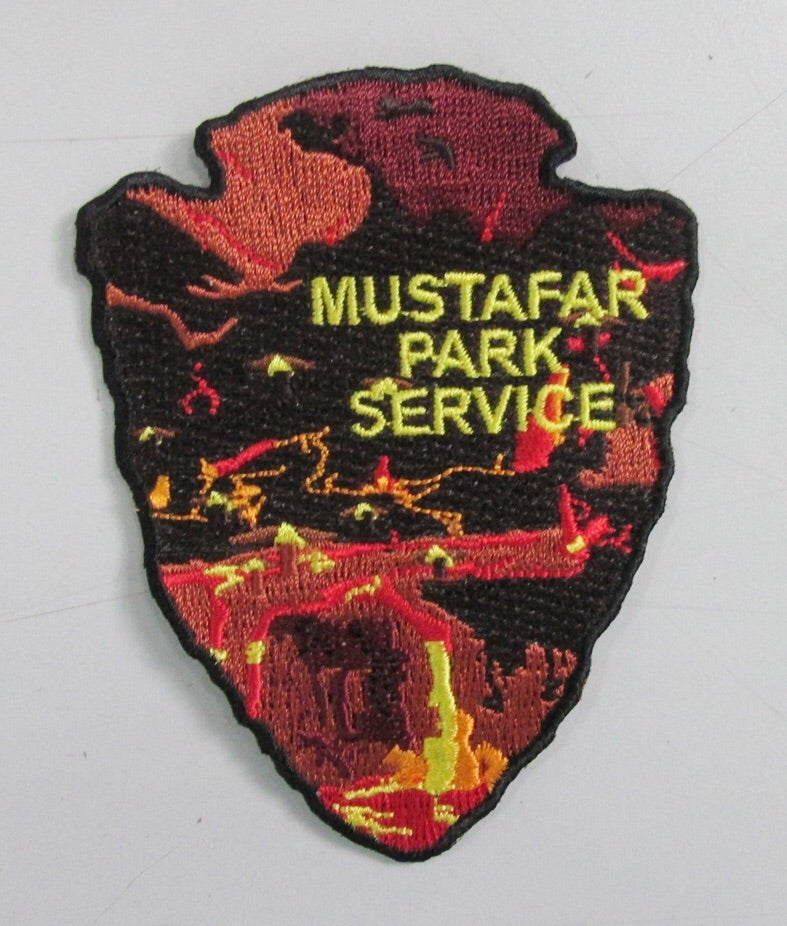 Image of Mustafar Park Service Series #7 Patch