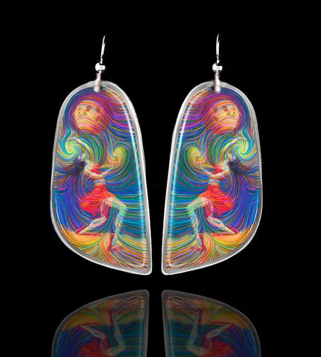 """Image of """"Moon Dancer"""" Energy Earrings"""