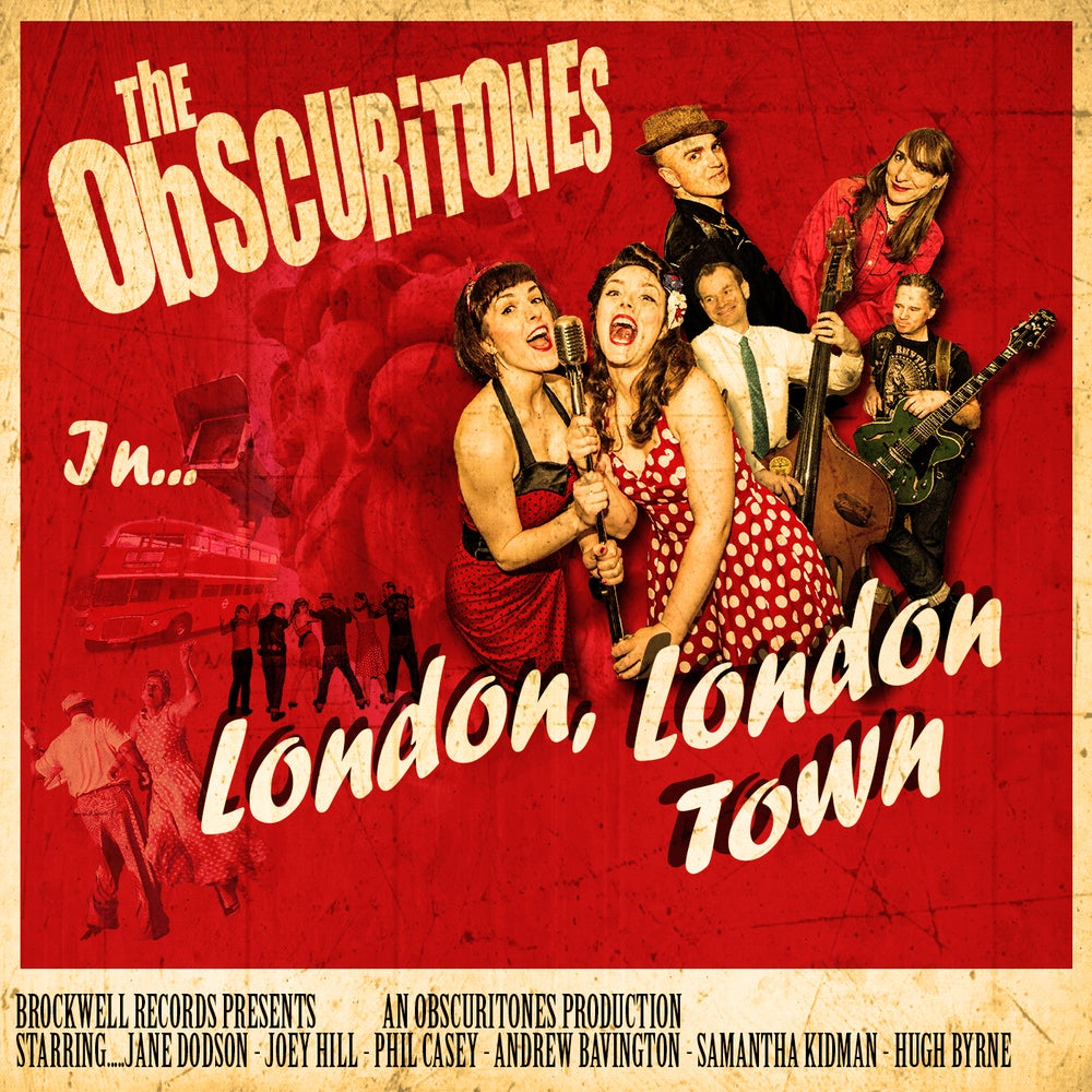 Image of The Obscuritones - London, London Town CD.