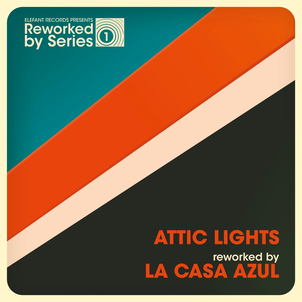 "Image of ATTIC LIGHTS 'Reworked by La Casa Azul' (Ltd edition transparent 7"" vinyl w/free MP3s)"