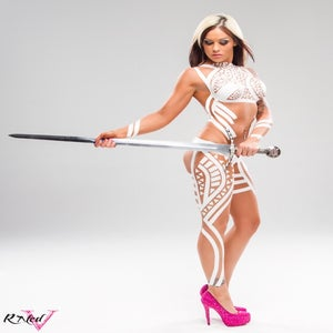 "Image of Velvet Sky ""Sword of Protection"" 8x10 signed photo"