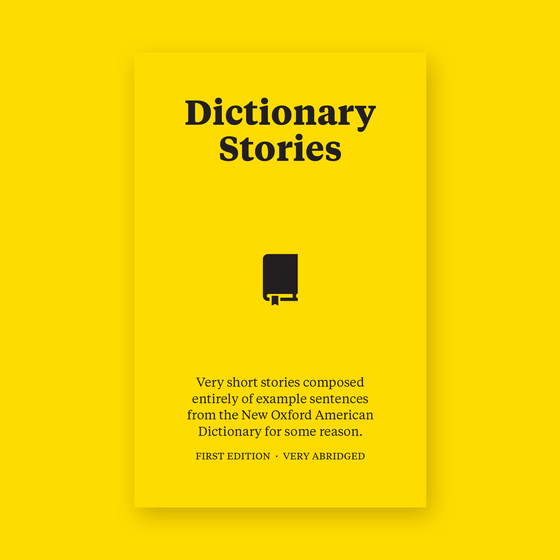Image of Dictionary Stories