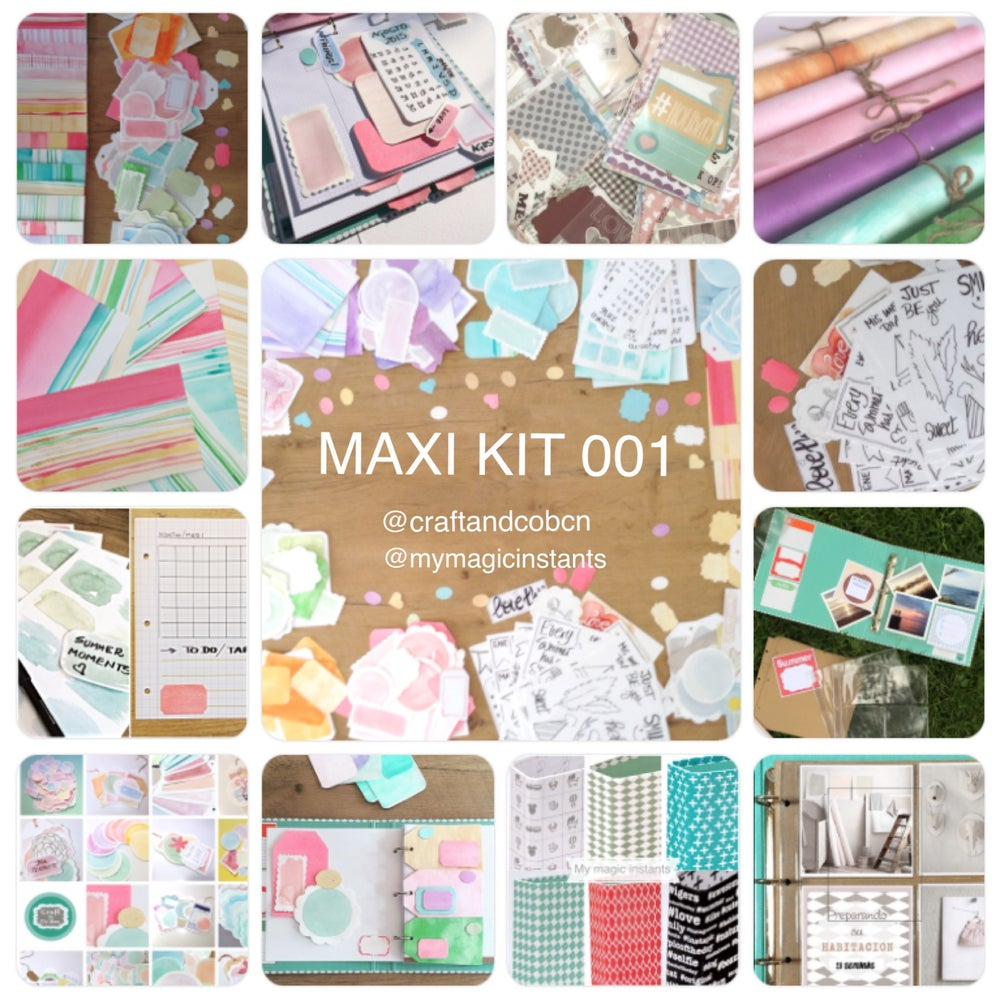 Image of MAXI KIT 001 de SCRAP (CON ALBUM INCLUIDO)