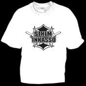 Image of Sthlm Inkasso T-shirt - Vit