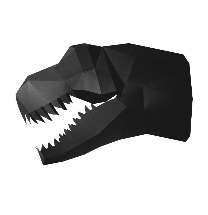Image of Paper T-Rex - DIY version
