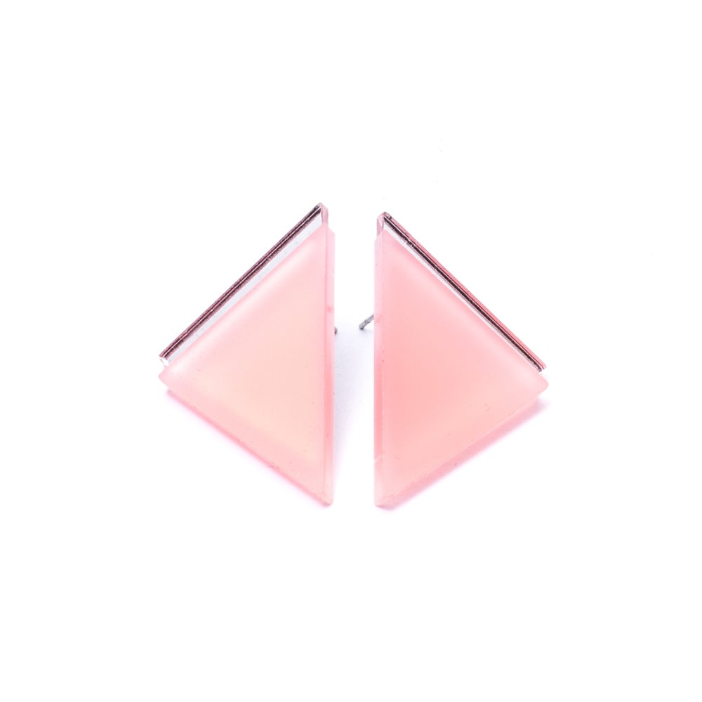 Image of Náušnice / Earrings Tria Mirror