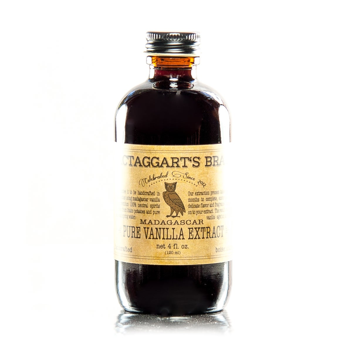 Pure Madagascar Vanilla Extract / MacTaggart's Brand