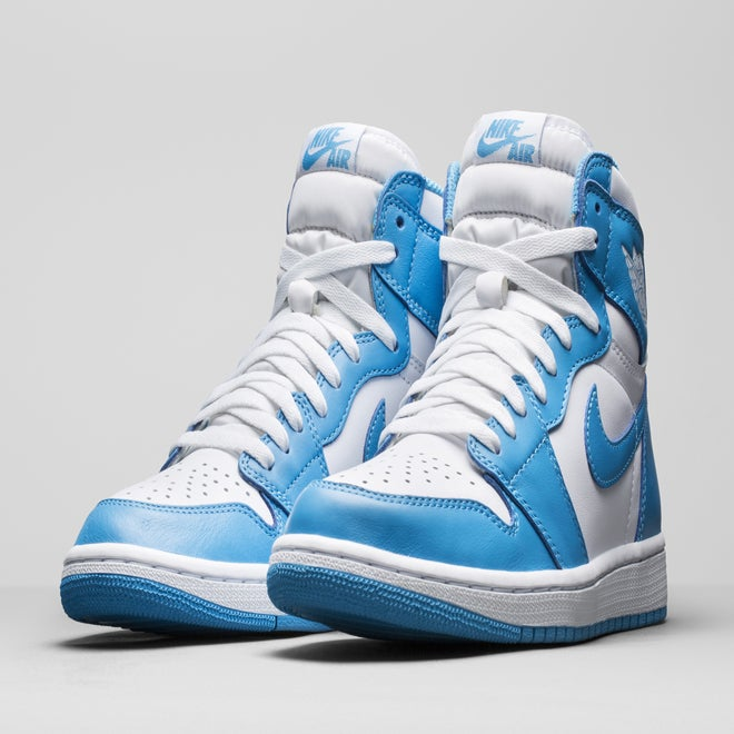 air jordan 1 retro high og unc solekingdom. Black Bedroom Furniture Sets. Home Design Ideas
