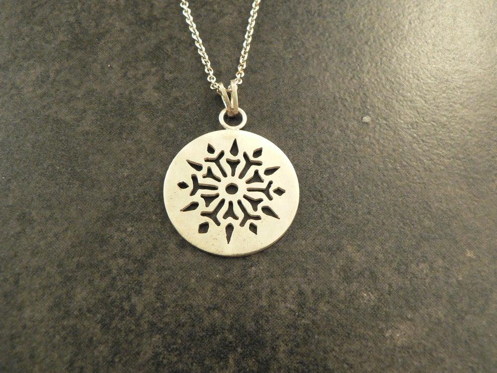 Image of Inset Snowflake, II
