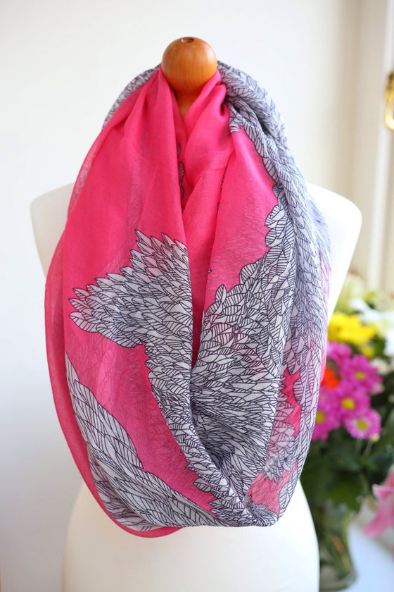 Image of Hot Pink Wings