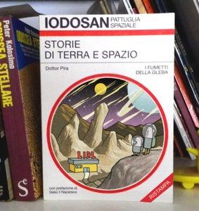 Image of IODOSAN PATTUGLIA SPAZIALE - STORIE DI TERRA E SPAZIO - RISTAMPA