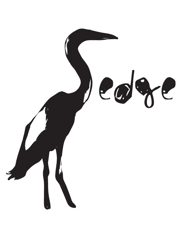 Image of White Sedge T-shirt (bird logo)