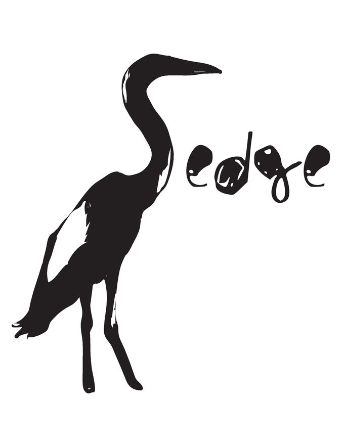 Image of White Sedge T-shirt (bird logo)