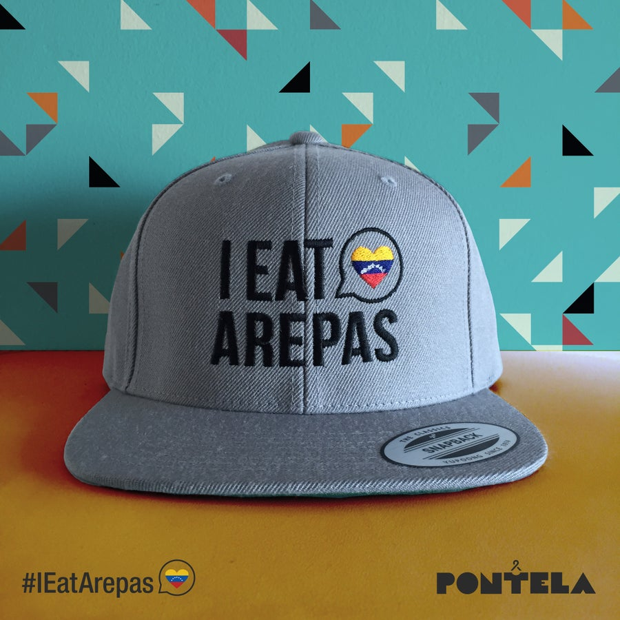Image of I Eat Arepas Silver