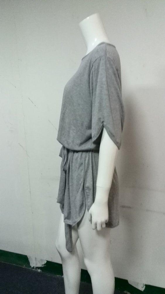 Image of Cute grey soft dress
