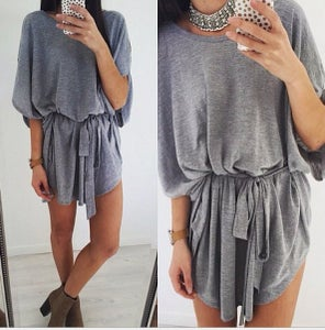 Image of Cute grey soft dress