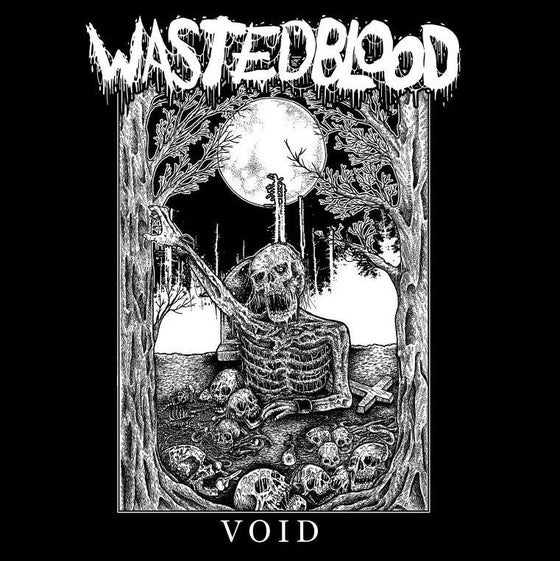 "Image of Wasted Blood - Void 12"" LP"