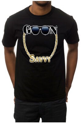 Image of Goon Savvy Staple Tee Shirt Black