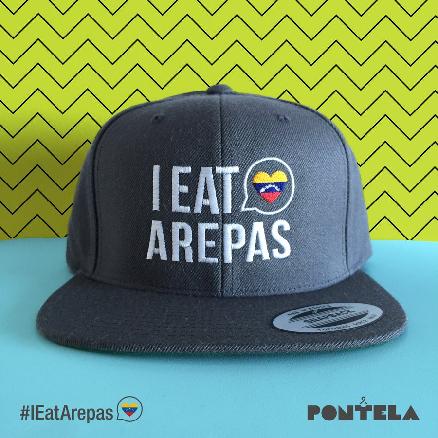 Image of I Eat Arepas Dark Gray
