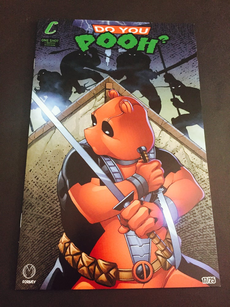 Image of Do You Pooh? #1 TMNT Homage Variant by Marat Mychaels