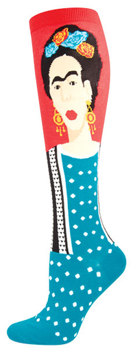 Image of Frida Kahlo Socks by Socksmith