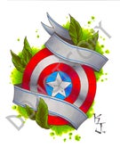 Image of Captain America Shield