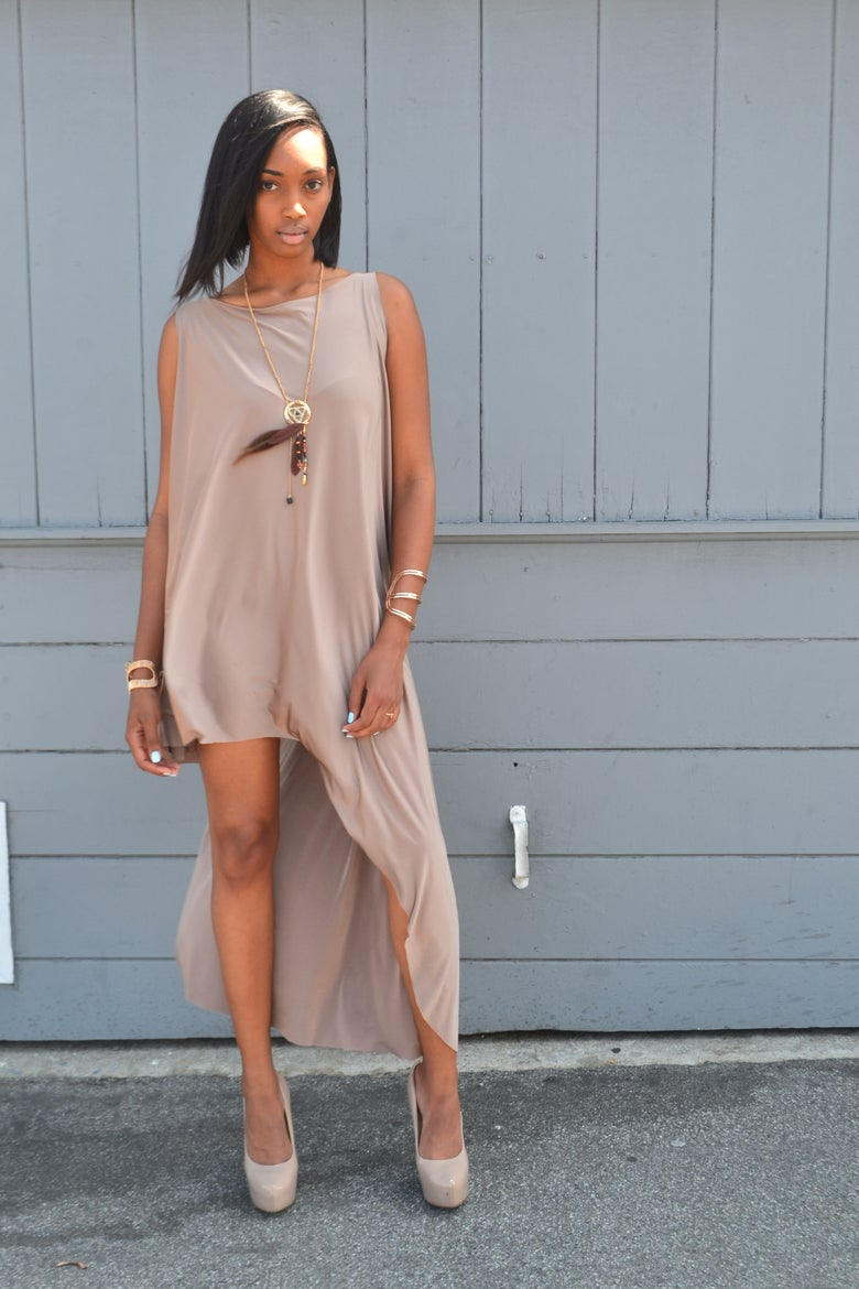 Image of Philthy Ragz Champagne Adisa Dress