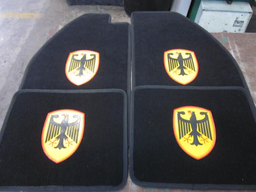 Image of VW BUG CARPET FLOOR MATS (SET)