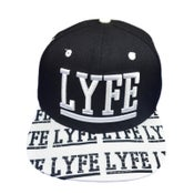 Image of LYFE STRAPBACK (Black)