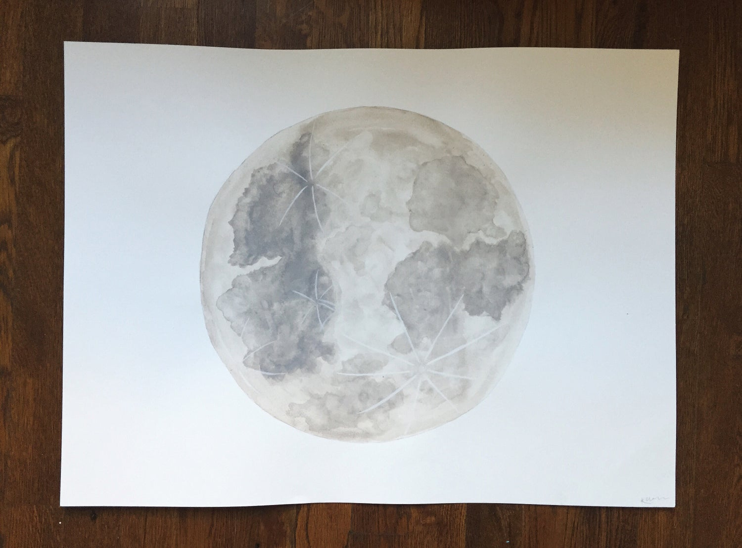 Image of Moon 18x24