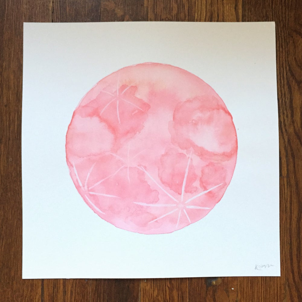 Image of Pink Moon 8x8