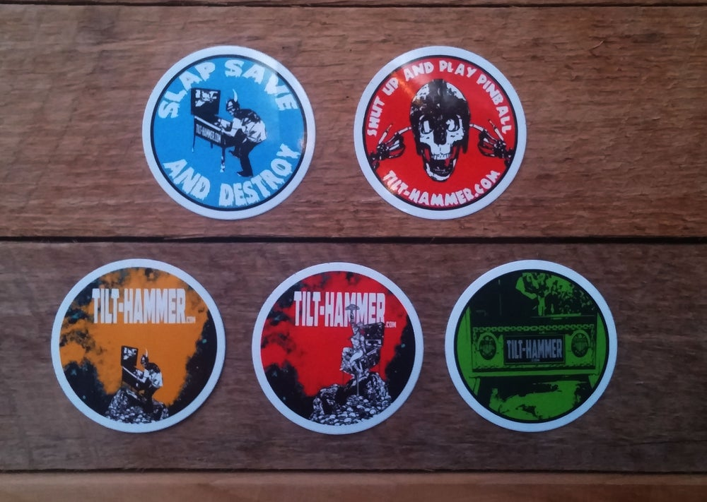 Image of Tilt-Hammer Sticker Pack