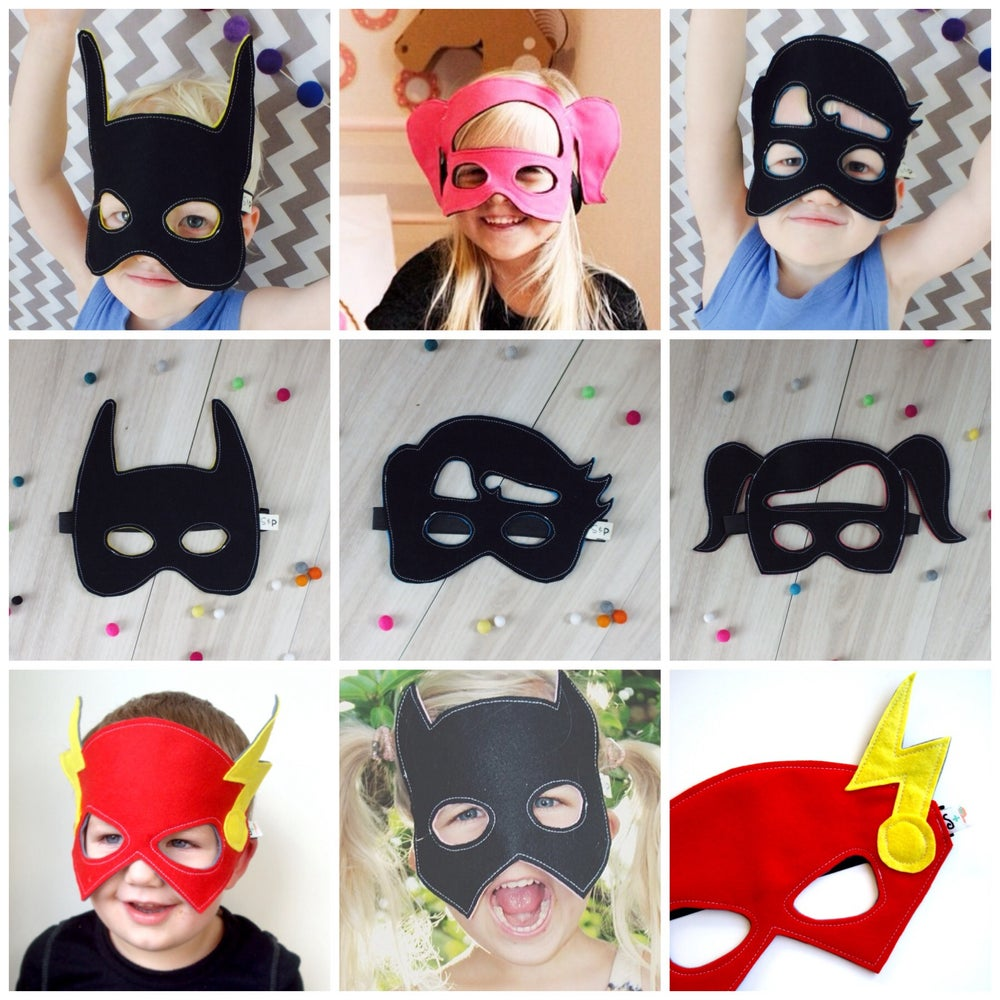Image of FELT MASK PARTY PACK - choose any 10 masks