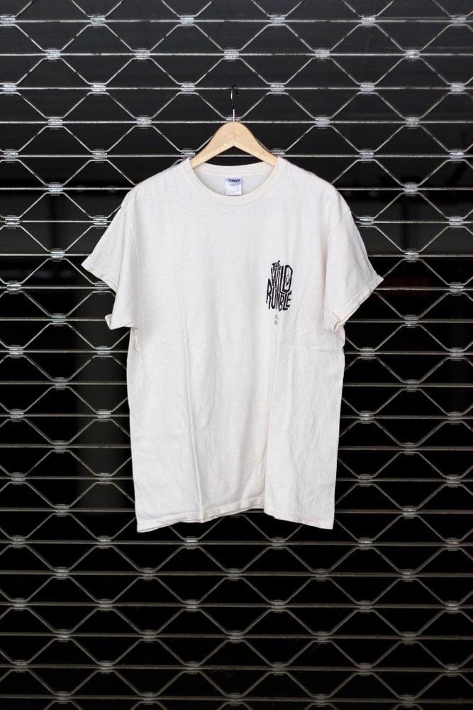Image of 'The Wild Rumble White' - Pocketprint Shirt