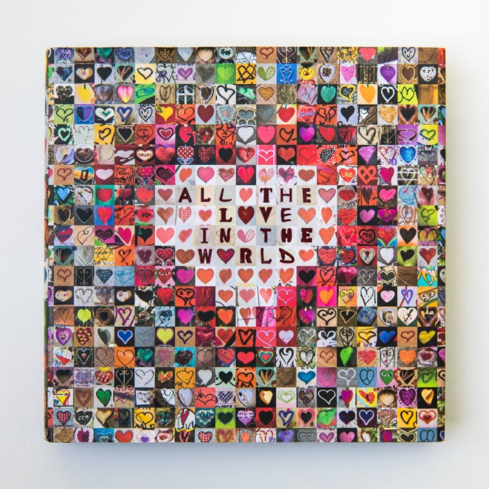 all the love in the world (signedjesse hunter) / all the love, Ideas