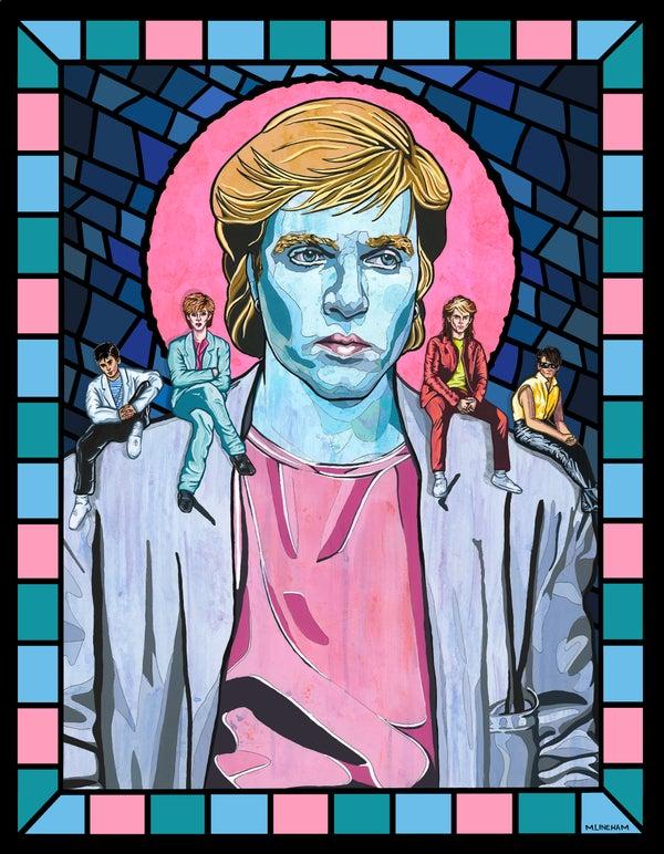 Image of Saint Simon Le Bon (Duran Duran)